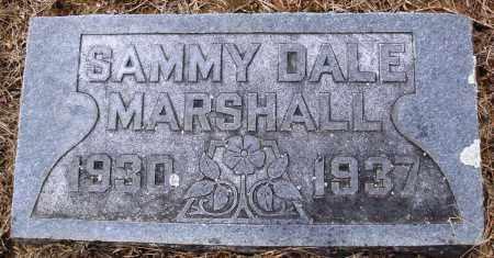 MARSHALL, SAMMY DALE - Prairie County, Arkansas   SAMMY DALE MARSHALL - Arkansas Gravestone Photos