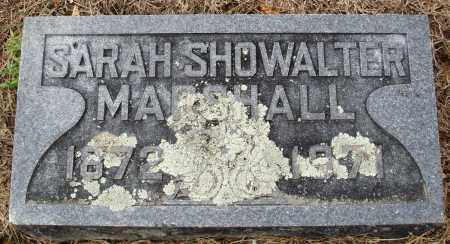 SHOWALTER MARSHALL, SARAH - Prairie County, Arkansas | SARAH SHOWALTER MARSHALL - Arkansas Gravestone Photos