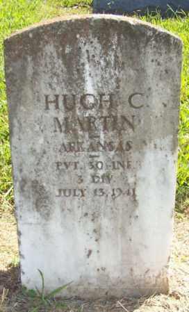 MARTIN  (VETERAN), HUGH C - Prairie County, Arkansas | HUGH C MARTIN  (VETERAN) - Arkansas Gravestone Photos