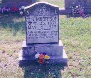 MORRISON, THOMAS SHERMAN - Prairie County, Arkansas | THOMAS SHERMAN MORRISON - Arkansas Gravestone Photos