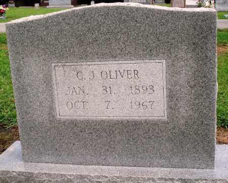 OLIVER, C J - Prairie County, Arkansas | C J OLIVER - Arkansas Gravestone Photos