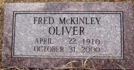 OLIVER, FRED MCKINLEY - Prairie County, Arkansas | FRED MCKINLEY OLIVER - Arkansas Gravestone Photos