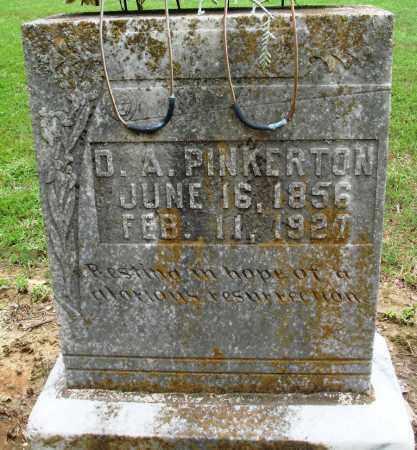 PINKERTON, D A - Prairie County, Arkansas | D A PINKERTON - Arkansas Gravestone Photos