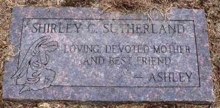 SUTHERLAND, SHIRLEY C - Prairie County, Arkansas | SHIRLEY C SUTHERLAND - Arkansas Gravestone Photos