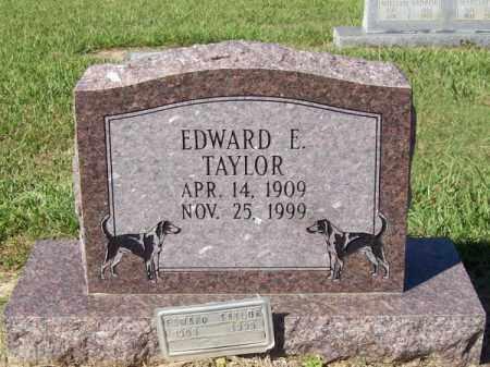 TAYLOR, EDWARD E - Prairie County, Arkansas | EDWARD E TAYLOR - Arkansas Gravestone Photos