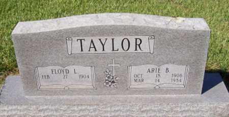 TAYLOR, ARIE B - Prairie County, Arkansas | ARIE B TAYLOR - Arkansas Gravestone Photos