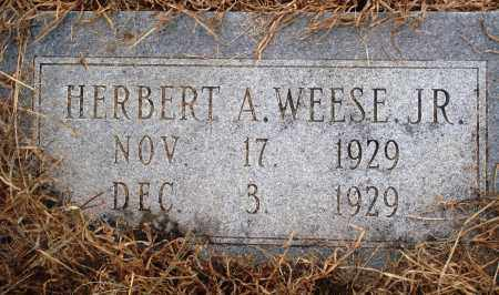 WEESE, JR, HERBERT A - Prairie County, Arkansas | HERBERT A WEESE, JR - Arkansas Gravestone Photos