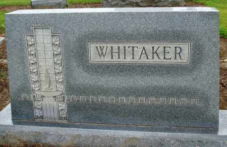WHITAKER, FAMILY - Prairie County, Arkansas | FAMILY WHITAKER - Arkansas Gravestone Photos
