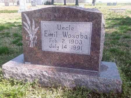 WOSOBA, EMIL - Prairie County, Arkansas | EMIL WOSOBA - Arkansas Gravestone Photos