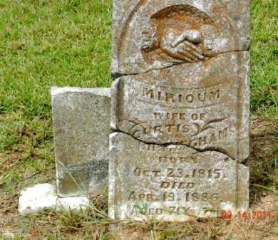 BIRMINGHAM, MIRIOUM JANE - Pulaski County, Arkansas   MIRIOUM JANE BIRMINGHAM - Arkansas Gravestone Photos