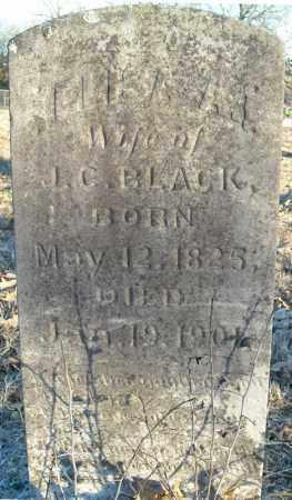 BLACK, ELISA ANN - Pulaski County, Arkansas | ELISA ANN BLACK - Arkansas Gravestone Photos