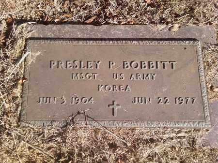 BOBBITT  (VETERAN KOR), PRESLEY P - Pulaski County, Arkansas   PRESLEY P BOBBITT  (VETERAN KOR) - Arkansas Gravestone Photos