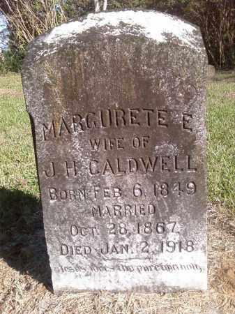 CALDWELL, MARGURETTE E. - Pulaski County, Arkansas | MARGURETTE E. CALDWELL - Arkansas Gravestone Photos