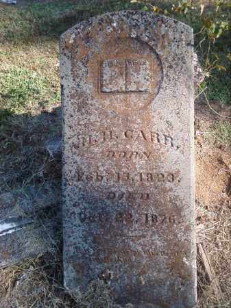 CARR, HIRAM H. - Pulaski County, Arkansas | HIRAM H. CARR - Arkansas Gravestone Photos