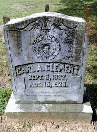 CLEMENT, CARL A. - Pulaski County, Arkansas | CARL A. CLEMENT - Arkansas Gravestone Photos