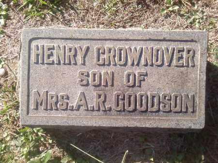 CROWNOVER, HENRY - Pulaski County, Arkansas | HENRY CROWNOVER - Arkansas Gravestone Photos