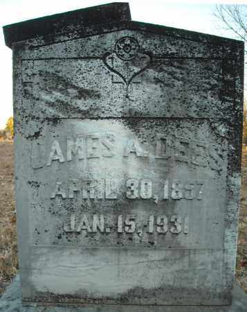 DEES, JAMES A. - Pulaski County, Arkansas | JAMES A. DEES - Arkansas Gravestone Photos