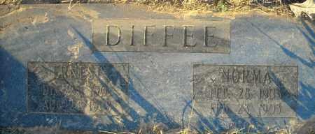 DIFFEE, NORMA - Pulaski County, Arkansas | NORMA DIFFEE - Arkansas Gravestone Photos