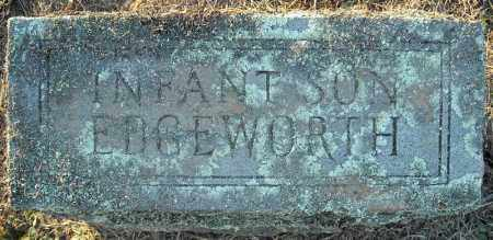 EDGEWORTH, INFANT SON - Pulaski County, Arkansas   INFANT SON EDGEWORTH - Arkansas Gravestone Photos