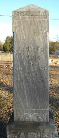 FARIS, CLEMENTINE - Pulaski County, Arkansas | CLEMENTINE FARIS - Arkansas Gravestone Photos