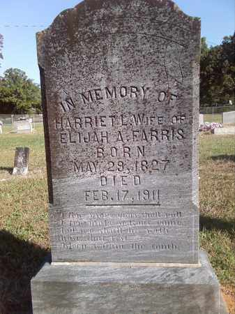 FARRIS, HARRIET L - Pulaski County, Arkansas | HARRIET L FARRIS - Arkansas Gravestone Photos