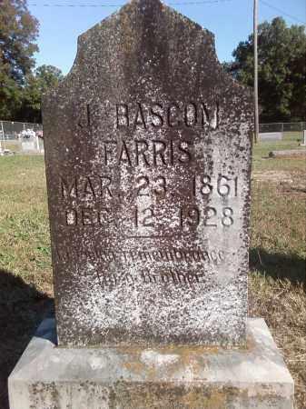 FARRIS, J. BASCOM - Pulaski County, Arkansas | J. BASCOM FARRIS - Arkansas Gravestone Photos
