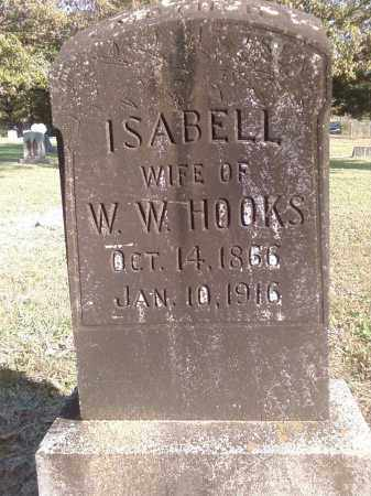 HOOKS, ISABELL - Pulaski County, Arkansas | ISABELL HOOKS - Arkansas Gravestone Photos