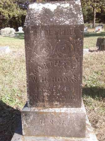 HOOKS, MARTHA A. - Pulaski County, Arkansas | MARTHA A. HOOKS - Arkansas Gravestone Photos