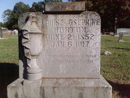 HORTON, LOUISE JOSEPHINE - Pulaski County, Arkansas | LOUISE JOSEPHINE HORTON - Arkansas Gravestone Photos