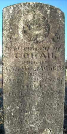 JAGGERS, CORAH - Pulaski County, Arkansas | CORAH JAGGERS - Arkansas Gravestone Photos