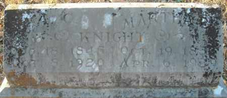 KNIGHT, MARTHA B. - Pulaski County, Arkansas | MARTHA B. KNIGHT - Arkansas Gravestone Photos