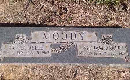 MOODY, WILLIAM BAKER - Pulaski County, Arkansas | WILLIAM BAKER MOODY - Arkansas Gravestone Photos