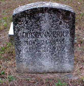 PRICE, LOUISIANA - Pulaski County, Arkansas   LOUISIANA PRICE - Arkansas Gravestone Photos