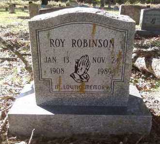 ROBINSON, ROY - Pulaski County, Arkansas   ROY ROBINSON - Arkansas Gravestone Photos