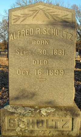 SCHULTZ, ALFRED R. - Pulaski County, Arkansas   ALFRED R. SCHULTZ - Arkansas Gravestone Photos