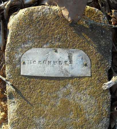 SCHULTZ, H.C. - Pulaski County, Arkansas | H.C. SCHULTZ - Arkansas Gravestone Photos