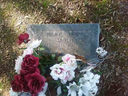 SHIRLEY, THOMAS ANDREW - Pulaski County, Arkansas | THOMAS ANDREW SHIRLEY - Arkansas Gravestone Photos