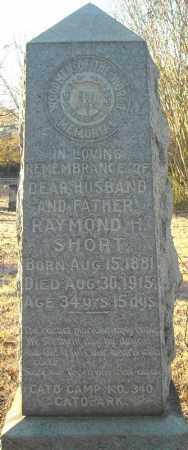 SHORT, RAYMOND H. - Pulaski County, Arkansas | RAYMOND H. SHORT - Arkansas Gravestone Photos