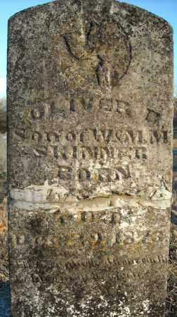 SKINNER, OLIVER D. - Pulaski County, Arkansas   OLIVER D. SKINNER - Arkansas Gravestone Photos