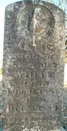 WHITE, KATIE - Pulaski County, Arkansas | KATIE WHITE - Arkansas Gravestone Photos
