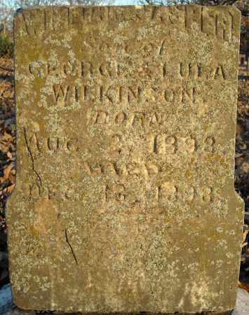 WILKINSON, WILLIAM JASPER - Pulaski County, Arkansas | WILLIAM JASPER WILKINSON - Arkansas Gravestone Photos