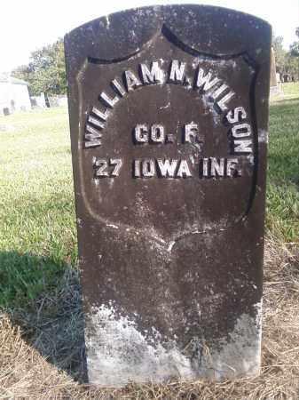 WILSON  (VETERAN UNION), WILLIAM N - Pulaski County, Arkansas   WILLIAM N WILSON  (VETERAN UNION) - Arkansas Gravestone Photos