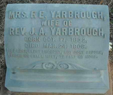 YARBROUGH, MRS., R.E. - Pulaski County, Arkansas   R.E. YARBROUGH, MRS. - Arkansas Gravestone Photos
