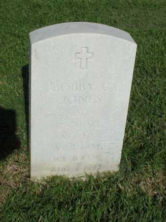 JONES (VETERAN 2 WARS), BOBBY G - Pulaski County, Arkansas | BOBBY G JONES (VETERAN 2 WARS) - Arkansas Gravestone Photos