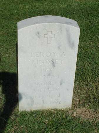 LINDSEY (VETERAN 2 WARS), LEROY A - Pulaski County, Arkansas | LEROY A LINDSEY (VETERAN 2 WARS) - Arkansas Gravestone Photos