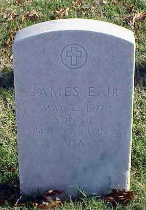 AARON, JR, JAMES EDWARD - Pulaski County, Arkansas | JAMES EDWARD AARON, JR - Arkansas Gravestone Photos