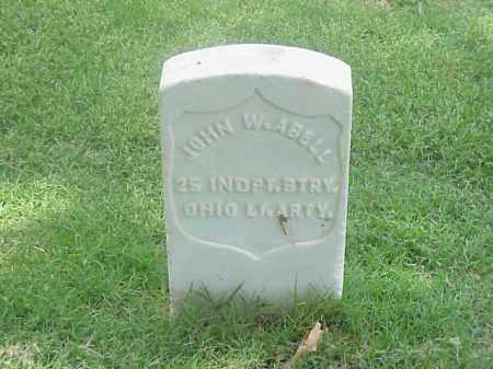 ABELL (VETERAN UNION), JOHN W - Pulaski County, Arkansas | JOHN W ABELL (VETERAN UNION) - Arkansas Gravestone Photos