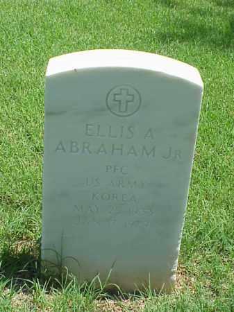 ABRAHAM, JR (VETERAN KOR), ELLIS A - Pulaski County, Arkansas   ELLIS A ABRAHAM, JR (VETERAN KOR) - Arkansas Gravestone Photos