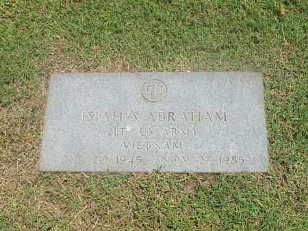ABRAHAM (VETERAN VIET), ISIAH S - Pulaski County, Arkansas | ISIAH S ABRAHAM (VETERAN VIET) - Arkansas Gravestone Photos