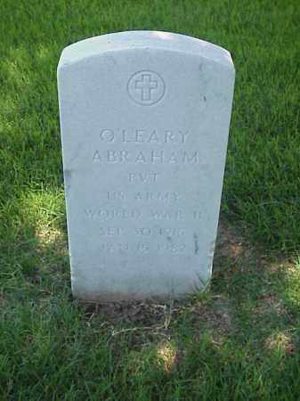 ABRAHAM (VETERAN WWII), O'LEARY - Pulaski County, Arkansas | O'LEARY ABRAHAM (VETERAN WWII) - Arkansas Gravestone Photos